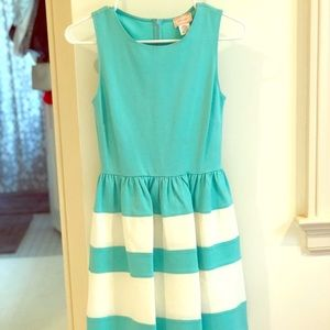 love...ady teal and white polo dress (: